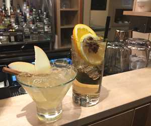 Holiday specials: Apple Smash and the Winter Citrus Gin and Tonic